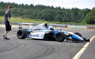 Nico Pino inicia intensa preparación en UK  con el equipo Double R Racing