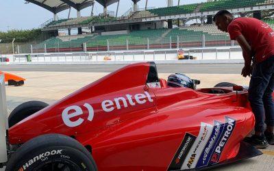 CDO. Nicolás Pino, la joven promesa del karting nacional pasó a FIA F4