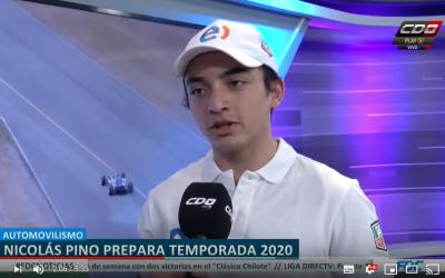 CDO. Nico Pino  prepara temporada 2020.