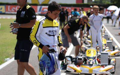 Nicolás Pino, piloto chileno de 15 años