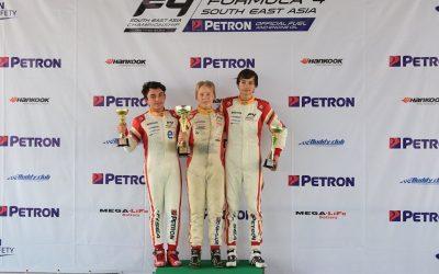 Nico Pino finaliza en el quinto puesto en la FIA Fórmula 4 Asiática