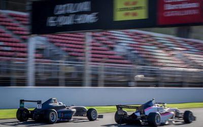 Nico Pino entre los más rápidos en los test con el equipo campeón de la Formula 4 británica