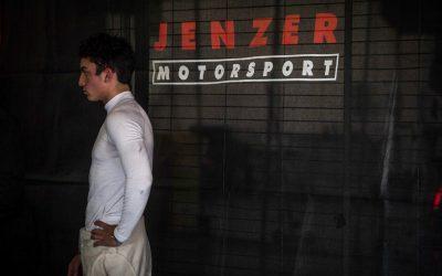 Nicolás Pino estuvo entre los más rápidos en los test de pretemporada en España