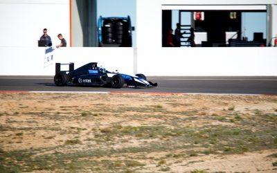 Nicolás Pino estuvo entre los más rápidos en entrenamientos en Andalucía y Barcelona